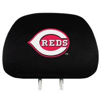 Cincinnati Reds Automotive Head Rest Cover