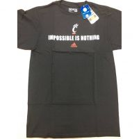 "Adidas Cincinnati Bearcats ""Impossible is Nothing"" Tee Shirt"