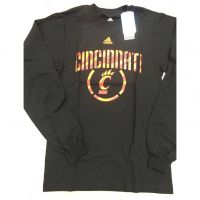 Adidas Cincinnati Bearcats Long Sleeve Circle C Tee Shirt