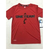 "Adidas Youth UC Red ""One Team"" Climalite Shirt"