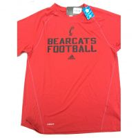 Adidas Cincinnati Bearcats Football Climalite Shirt