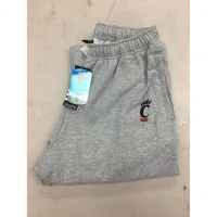 Adidas University of Cincinnati Small Logo Gray Sweatpants