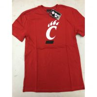 Red Cincinnati Bearcats C Logo Youth Tee