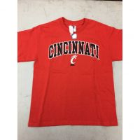 "Red Cincinnati Bearcats ""Cincinnati C"" Tee Shirt"