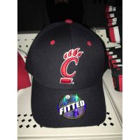 Zephyr Black Cincinnati Bearcats Hat