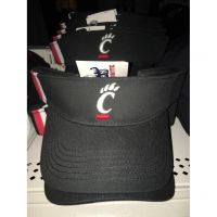 Fan Favorite Black Cincinnati Bearcats Visor