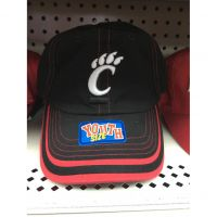 Fan Favorite Black Cincinnati Bearcats Youth Hat