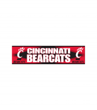 Cincinnati Bearcats Bumper Sticker