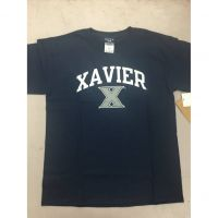 Xavier Navy Blue Youth Tee
