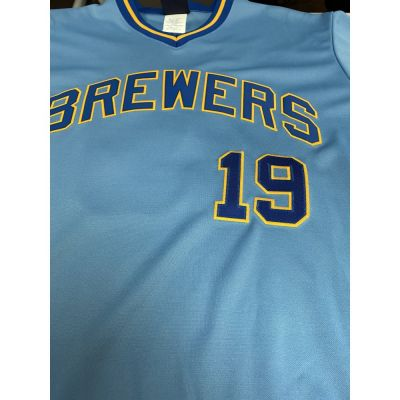 Retro Milwaukee Brewers Robin Yount Jersey